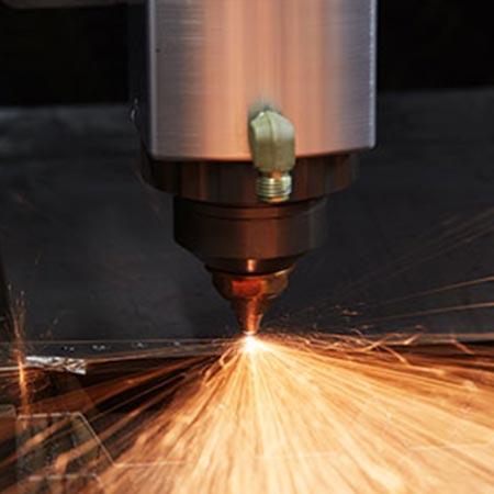 Machine Supported Laser