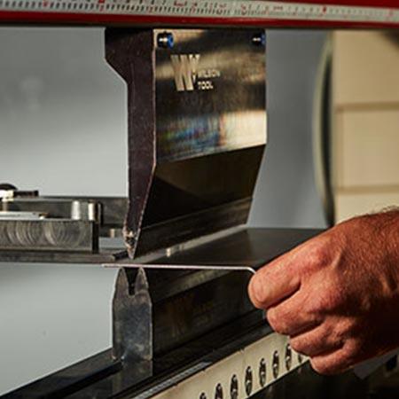 Machine Supported Press Break