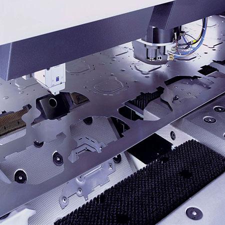 Laser Punch Combo Machine