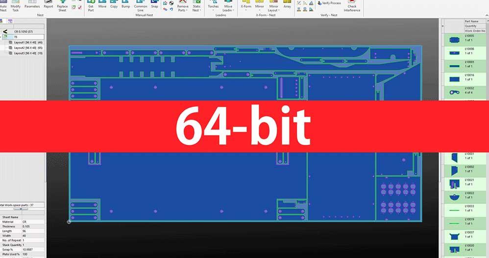 SigmaNEST 64-Bit