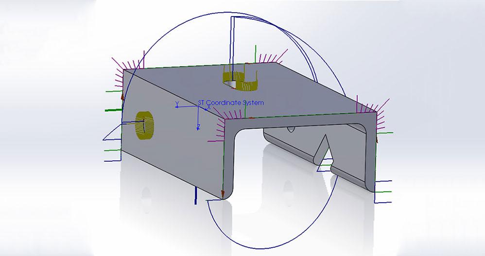 Feature Single Pierce Open Section Toolbar