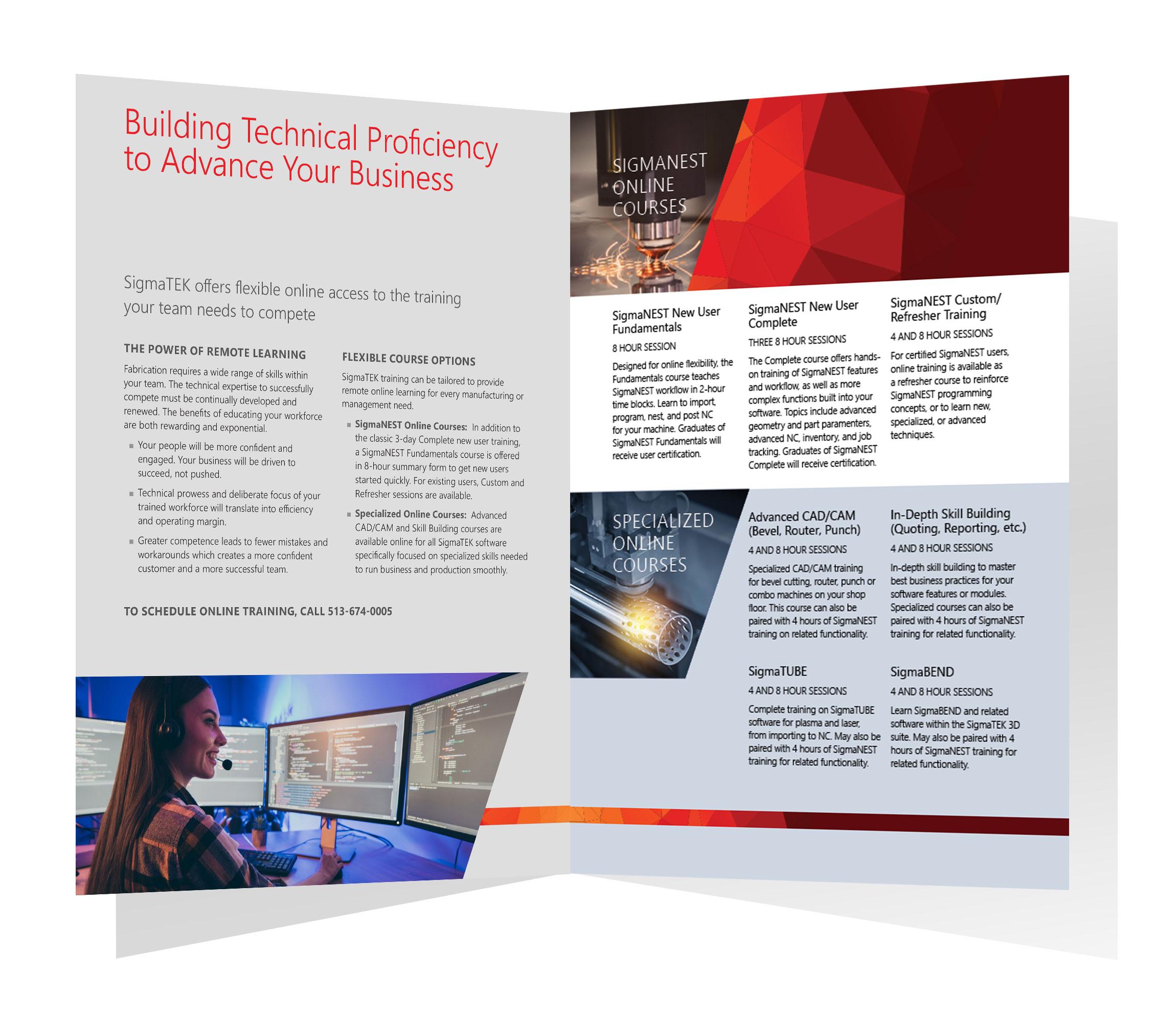 Download Online Training Brochure